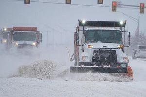 Thêm 2 bang ở Mỹ ban bố tình trạng khẩn cấp hậu bão tuyết