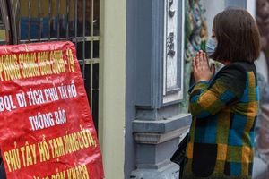Hà Nội: Nhiều chùa tổ chức cầu an trực tuyến phục vụ người dân