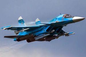Sức mạnh của 'Vịt con địa ngục' Su-34 khiến khủng bố Syria kinh hồn bạt vía