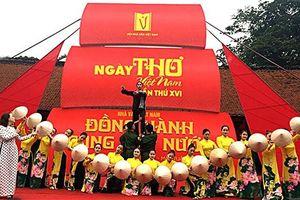 Hoãn Ngày thơ Việt Nam 2021 tại Văn Miếu Quốc Tử Giám