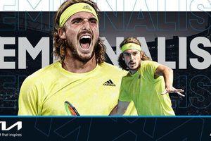 Australian Open 2021: Hạ Nadal, Tsitsipas vào bán kết