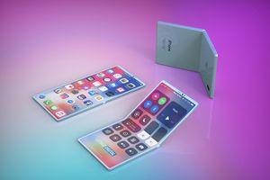 iPhone màn hình gập sẽ đi kèm bút cảm ứng và giá mềm