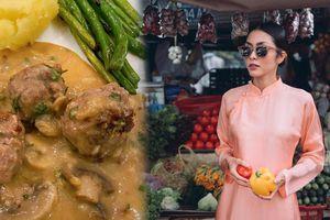 Nàng dâu 'vàng' Tăng Thanh Hà trổ tài vào bếp với công thức mới khiến cộng đồng mạng khen nức nở