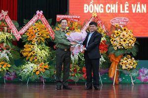 Giám đốc công an Đắk Lắk thăng hàm Thiếu tướng