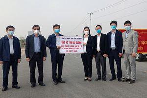 Thái Bình hỗ trợ tỉnh Hải Dương vật tư y tế trị giá một tỷ đồng