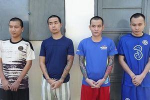 Tạm giam 16 đối tượng chém người gây náo loạn trên Quốc lộ 91