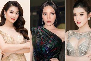 Top 3 HHVN 2014: Kỳ Duyên-Huyền My miệt mài hoạt động showbiz, Diễm Trang yên bề gia thất
