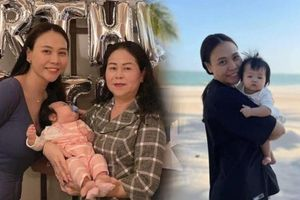 Mẹ ruột Đàm Thu Trang bênh vực khi con gái bị chê mặt mộc kém sắc già nua