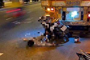 Nam thanh niên tử vong sau cú đâm xe container dừng bên đường