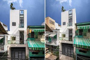 Nhà phố hẹp vẫn mát nhờ thông tầng khác biệt