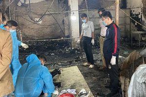 Cháy nhà trong đêm, một người ở Bắc Giang tử vong