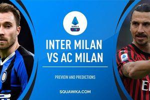 Trực tiếp Milan vs Inter: Khúc cua định mệnh