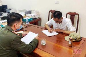 Phạt 'nguội' 3 đối tượng đốt pháo trong dịp tết ở Cẩm Xuyên