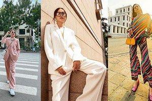 Sao đẹp cuối tuần: Thanh Hằng, Lan Ngọc cùng diện vest du xuân