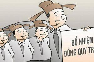 Cà Mau: Không bổ nhiệm 1 trường hợp quá tuổi quy định