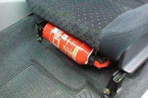 Những điểm mới về quy định lắp đặt thiết bị PCCC trên xe ô tô từ ngày 20/2