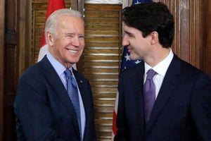 Tổng thống Mỹ Biden lần đầu gặp mặt Thủ tướng Canada