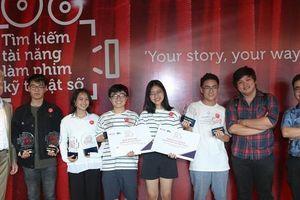 Cuộc thi 'Tìm kiếm tài năng làm phim kỹ thuật số': Sân chơi của những nhà làm phim tương lai