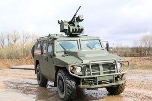 Nga: Xe bọc thép 'Tiger' đang chinh phục thành công thị trường Trung Đông