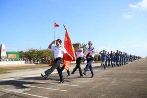 Các đơn vị khối đảo thuộc Đoàn Trường Sa ra quân huấn luyện năm 2021