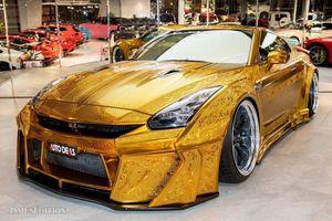 Chiếc Nissan GT-R R35 'bọc vàng' này đang rao bán 10 tỷ đồng