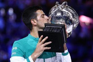 Novak Djokovic lần thứ 9 đăng quang tại Australian Open