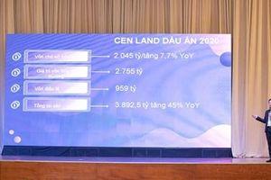 Năm 2021, Cen Land đặt mục tiêu doanh thu đạt 4.000 tỷ đồng