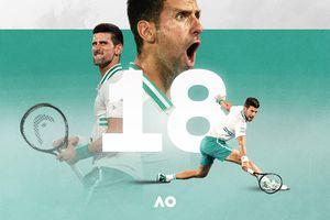 Novak Djokovic - người làm nên lịch sử với giải Australia mở rộng