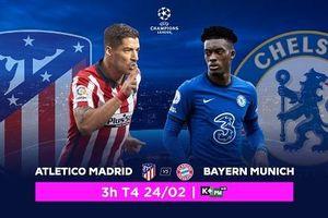 Atletico Madrid vs. Chelsea: Atletico vắng bóng hàng loạt trụ cột, trực tiếp trên VTVcab ON
