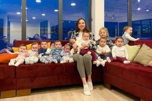Cô gái gây 'choáng' khi mới 23 tuổi đã là mẹ của 11 đứa con