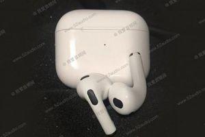 Rò rỉ thiết kế tai nghe AirPods thế hệ thứ 3 của Apple