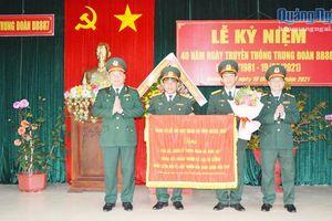 Kỷ niệm 40 năm Ngày thành lập Trung đoàn BB887