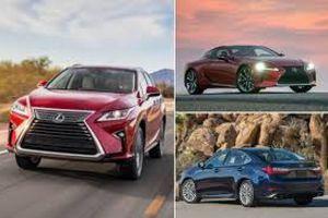 Lexus đứng đầu trong nghiên cứu về độ tin cậy của JD Power 2021