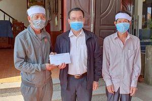 MTTQ tỉnh Quảng Ninh thăm hỏi gia đình 2 vợ chồng ngư dân tử vong trên biển