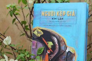 Con trai nhà văn Kim Lân vẽ minh họa cho sách bố mình