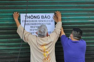 Nhiều nhà hàng, quán nhậu ở Hà Nội vẫn cửa đóng, then cài