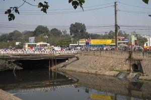 Hà Nội: Phân luồng giao thông phục vụ thi công cầu Yên Hòa