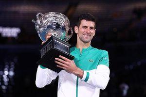 Novak Djokovic nghỉ dài hạn sau chức vô địch Australian Open 2021