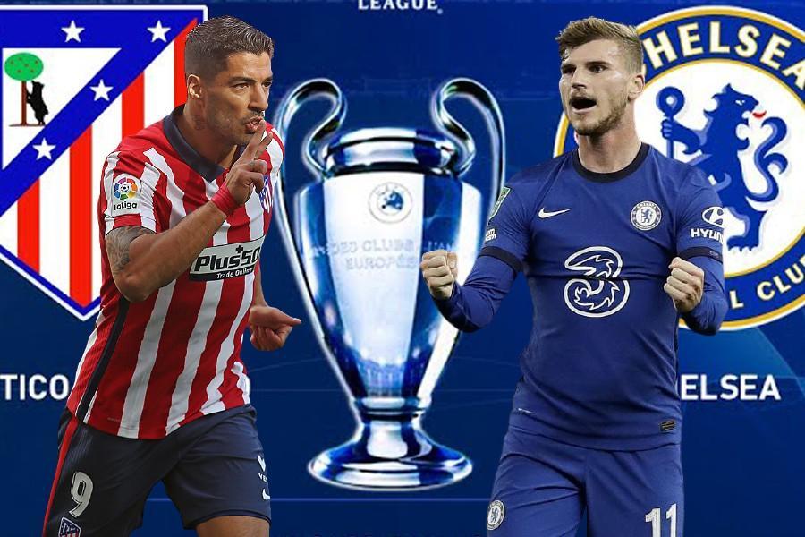 Lịch thi đấu Champions League 23/2: Bão táp chờ Chelsea