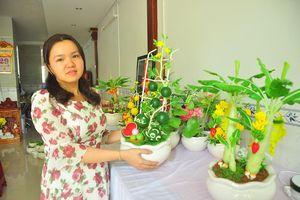 Tình yêu hoa từ... đất của nữ thạc sỹ 9X ở Cần Thơ