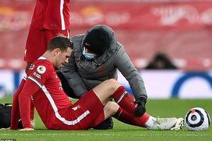 Liverpool nhận thêm cú sốc, mất đội trưởng Henderson 4-5 trận