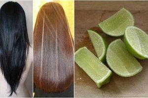 Không cần ra tiệm chỉ cần dùng chanh là nhuộm được tóc