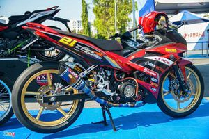 Ngắm Yamaha Exciter 150 bản độ xe đua
