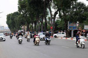 Hà Nội rào chắn thi công cầu Yên Hòa, phương tiện cần lưu ý gì?