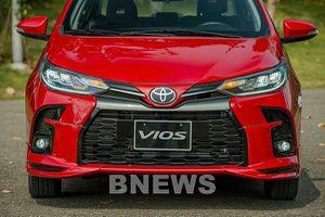 Toyota Việt Nam giới thiệu Vios 2021 có nhiều cải tiến và thêm bản thể thao