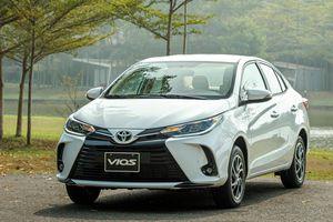 Giá lăn bánh Toyota Vios 2021 phiên bản nâng cấp vừa ra mắt tại Việt Nam
