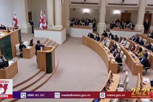 Quốc hội Gruzia thông qua nội các mới