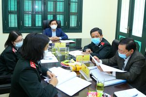 Thứ trưởng Nguyễn Bá Hoan tiếp công dân định kỳ tháng 2/2021