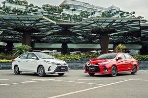 Toyota Vios 2021 chính thức ra mắt, giá thấp nhất 478 triệu đồng
