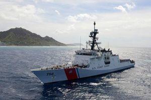 Tàu tuần tiễu của Nhật Bản và Mỹ tập trận chung trên biển